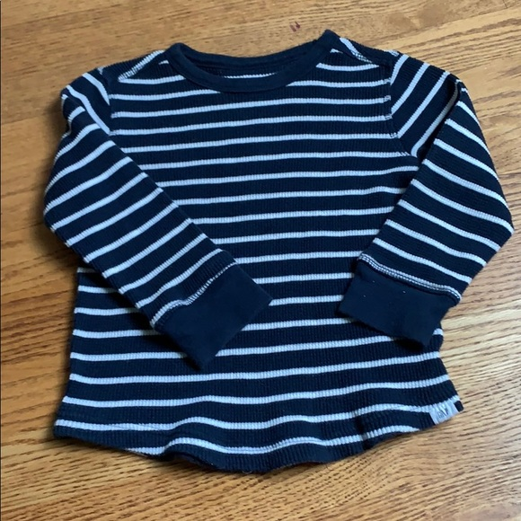 Baby Gap 4T Navy Blue Henley